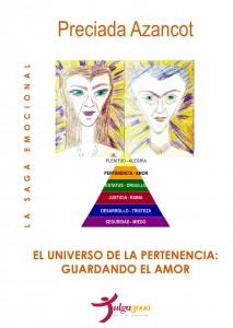 EL UNIVERSO DE LA PERTENENCIA - PRECIADA AZANCOT - CUBIERTA